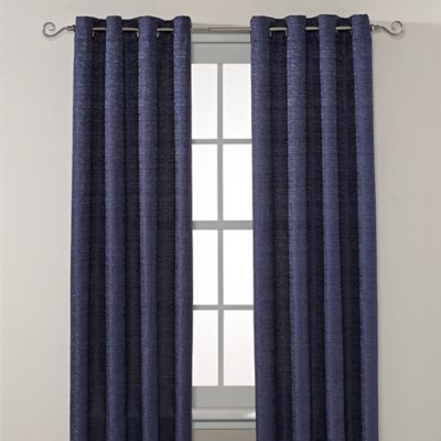 Montclair 63-Inch Grommet Top Window Curtain Panel in Linen
