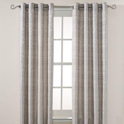 Montclair 84-Inch Grommet Top Window Curtain Panel in Blue