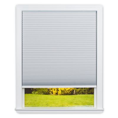 Redi Shade Easy Lift Cordless Cellular 36-Inch x 64-Inch Honeycomb Shade in White