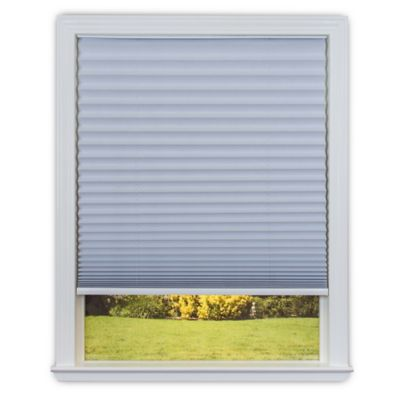 Redi Shade Easy Lift Cordless Pleated 36-Inch x 64-Inch Honeycomb Shade in White