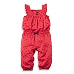 carter's® Size 18M Mini Heart Flutter Strap Romper in Red