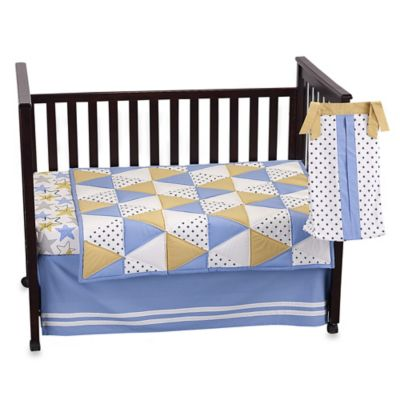 The Peanut Shell® Stargazer 4-Piece Crib Bedding Set
