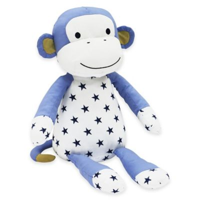 The Peanut Shell® Stargazer Monkey Plush Toy