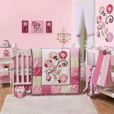 The Peanut Shell® Lainey 6-Piece Crib bedding Set