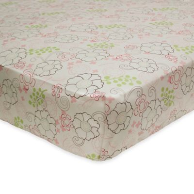 The Peanut Shell® Lainey Fitted Crib Sheet
