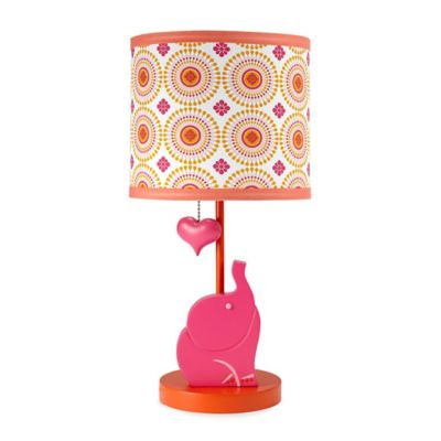 Happy Chic Baby by Jonathan Adler Party Elephant Lamp and Shade