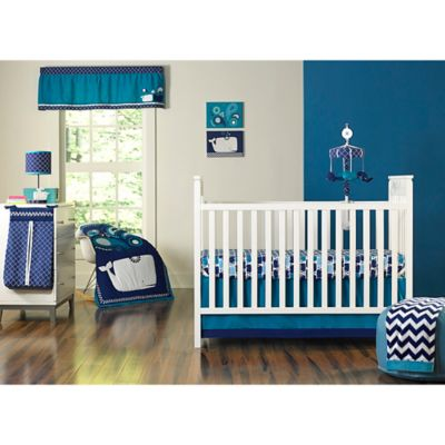 Happy Chic Baby by Jonathan Adler Party Whale 4-Piece Crib Bedding Set