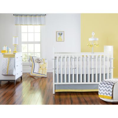 Happy Chic Baby by Jonathan Adler Safari Giraffe 4-Piece Crib Bedding Set