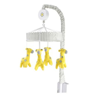 Happy Chic Baby by Jonathan Adler Safari Giraffe Musical Mobile