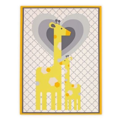 Happy Chic Baby by Jonathan Adler Safari Giraffe Wall Decor