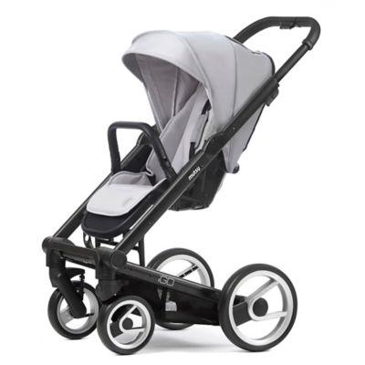 Mutsy Igo Stroller in Black/Silver