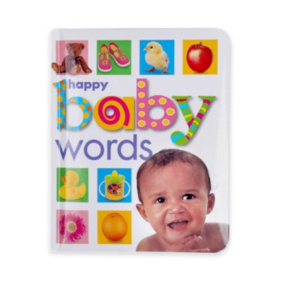 Happy Baby Words Book by Roger Priddy