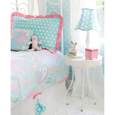 My Baby Sam Pixie Baby Full Duvet Cover Set in Aqua