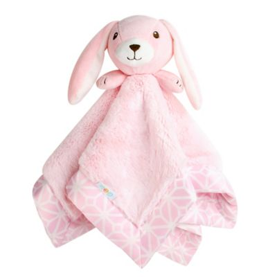 CoCaLo® Audrey Bunny Mix & Match Security Blanket in Pink