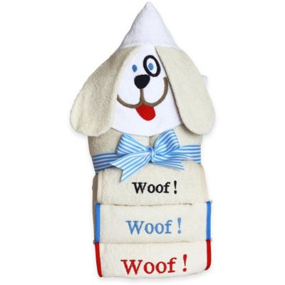 Silly Phillie® Creations Puppy Hooded Towel Set