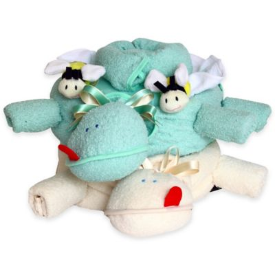 Silly Phillie™ Creations Two Turtles Gift Set for Twins