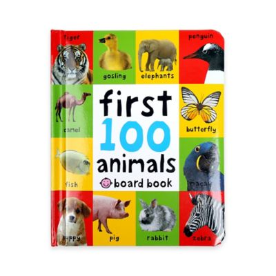 """""""First 100 Animals"""" Book by Roger Priddy"""