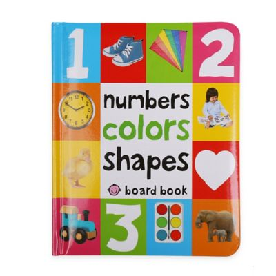 """""""Numbers Colors Shapes"""" Book by James Dean"""