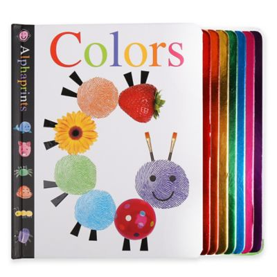 Alphaprints: Colors Book by Roger Priddy