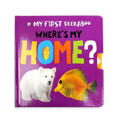 "My First Peekaboo: ""Where's My Home?"" Book by Roger Priddy"