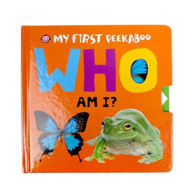 "My First Peekaboo: ""Who Am I?"" Book by Roger Priddy"