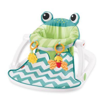 Fisher-Price® Deluxe Sit-Me-Up Frog Floor Seat in Citrus