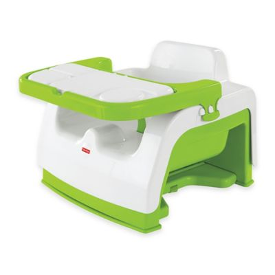 Fisher-Price® Grow-with-Me Portable Booster in Green