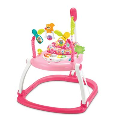 Fisher-Price® SpaceSaver Jumperoo in Floral Confetti