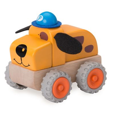 Wonderworld Miniworld Police Dog Car