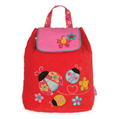 Stephen Joseph Ladybug Signature Collection Backpack in Red