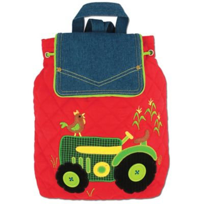 Stephen Joseph Tractor Signature Collection Backpack in Red