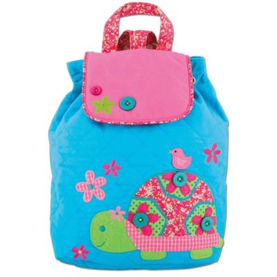 Stephen Joseph Turtle Signature Collection Backpack in Blue/Pink