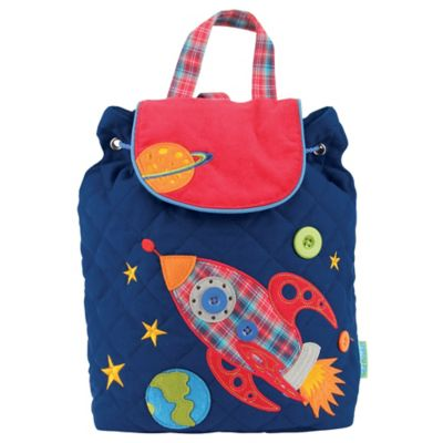 Stephen Joseph Space Signature Collection Backpack in Navy