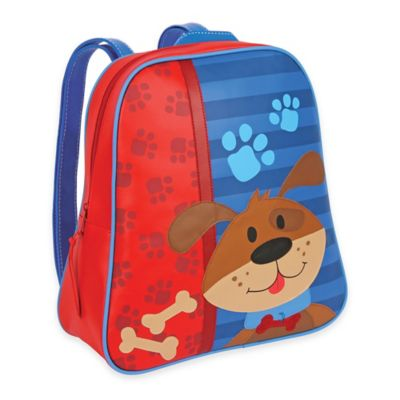 Stephen Joseph Dog Go Go Backpack in Blue/Red