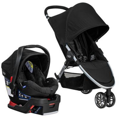 BRITAX 2016 B-Agile® 3/B-Safe® 35 Travel System in Black