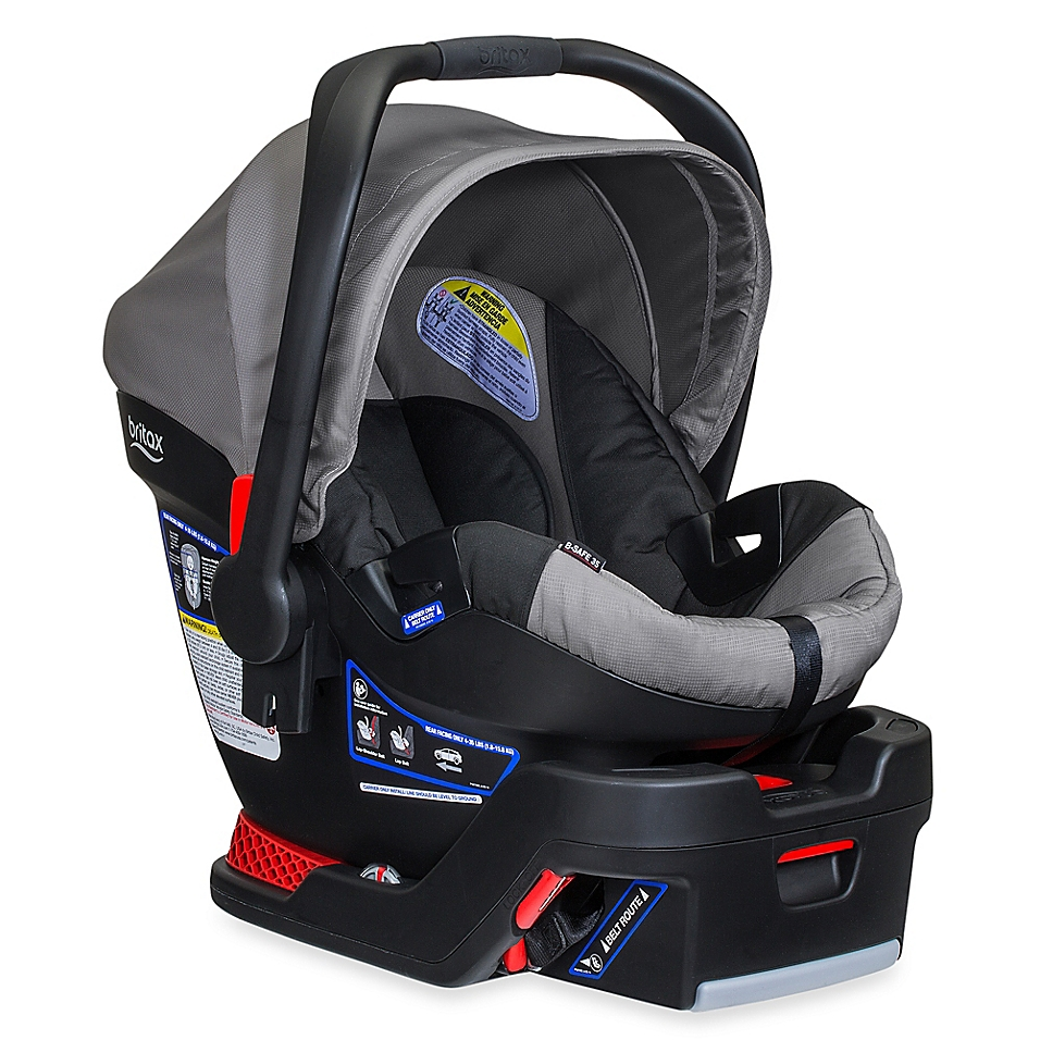 BRITAX B-Safe 35 XE Series Infant Car Seat in Steel - buybuyBaby.com
