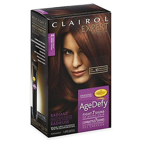 clairol 174 expert collection age defy hair color in 5r