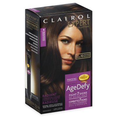 Clairol® Expert Collection Age Defy Hair Color in 5 Medium Brown