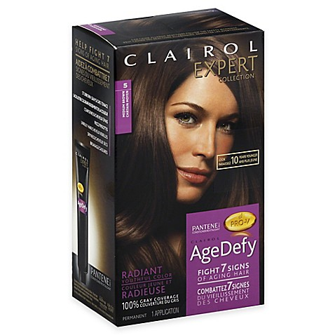clairol 174 expert collection age defy hair color in 5 medium