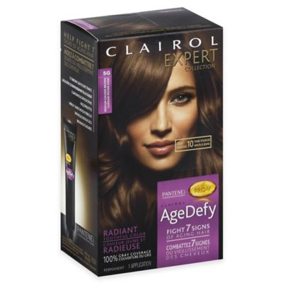 Clairol® Expert Collection Age Defy Hair Color in 5G Medium Golden Brown
