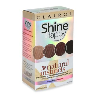 Clairol® Natural Instincts Shine Happy Clear Shine Treatment
