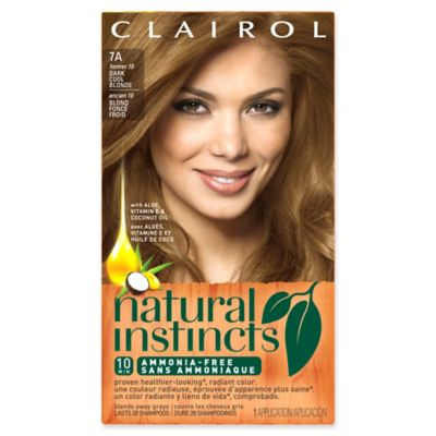 Clairol® Natural Instincts Ammonia-Free Semi-Permanent Color in 10 Sandalwood/Dark Cool Blonde