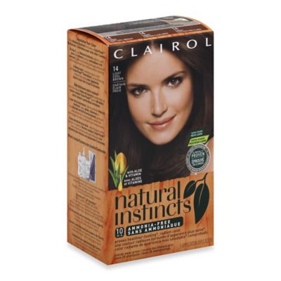 Clairol® Natural Instincts Ammonia-Free Semi-Permanent Color in 14 Tweed/Light Cool Brown