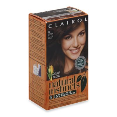 Clairol® Natural Instincts Ammonia-Free Semi-Permanent Color in 20 Hazelnut/Medium Brown