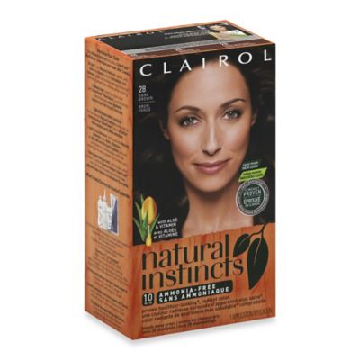 Clairol® Natural Instincts Ammonia-Free Semi-Permanent Color in 28 Nutmeg/Dark Brown