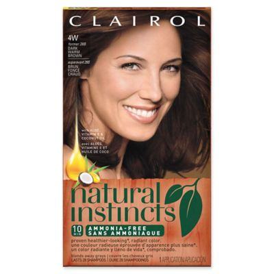 Clairol® Natural Instincts Ammonia-Free Semi-Permanent Color 28B Roasted Chestnut/Dk Warm Brown