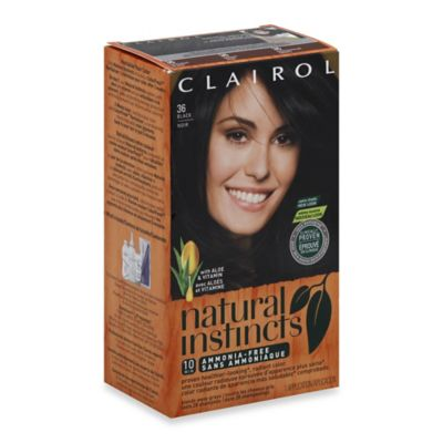 Clairol® Natural Instincts Ammonia-Free Semi-Permanent Color in 36 Black/Noir