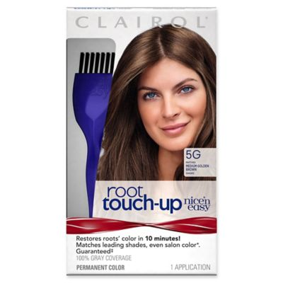 Clairol® Nice'n Easy Root Touch-Up Permanent Hair Color in 5G Medium Golden Brown