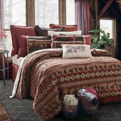 HiEnd Accents Cascade Lodge 5-Piece Full Comforter Set