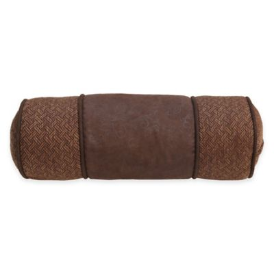Brown Neckroll Pillow
